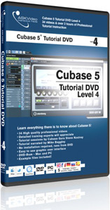 ASK Video Cubase 5 Tutorial DVD Level 4