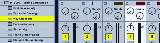 Detunized ROLFING Laid Back Vol. 1 in Ableton Live