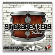 Nine Volt Audio Stickbreakers Vol 1 – Tom Edition