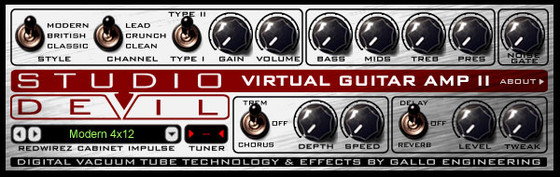 Virtual Guitar Plugin