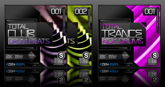 Zenhiser Total Club Drum Beats & Total Trance Kick Drums