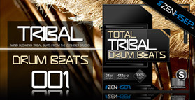 Zenhiser Total Tribal Drum Beats Vol. 1