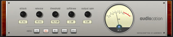 Audiocation Compressor AC1