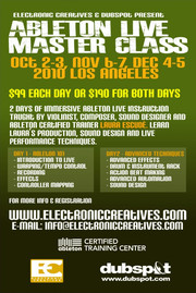 Electronic Creatives Ableton Live Master Class