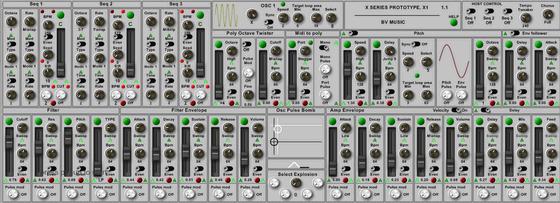 BV Music Prototype X1
