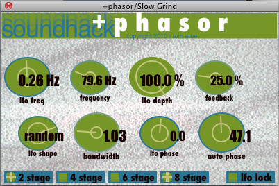 Soundhack +phasor