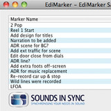 Sounds In Sync EdiMarker