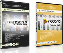 Time+Space Reason 5 & Record 1.5 tutotials DVDs