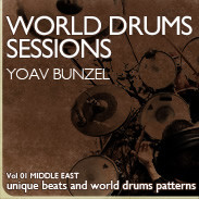 EarthMoments World Drum Sessions - Vol 1 Middle East