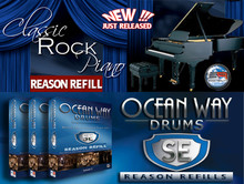 eSoundz Classic Rock Piano & Ocean Way Drums SE