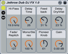 Jethroe Dub DJ FX