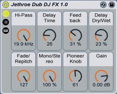 Jethroe Dub DJ FX