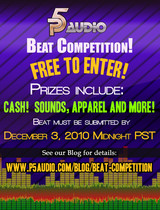 P5Audio Beat Competition