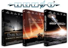 Zero-G Dark Skies, Alien Skies &amp Deep Impact