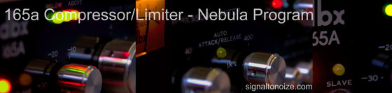 Eric Beam 165a Compressor/Limiter programs for Nebula