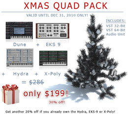Synapse Audio Xmas Quad Pack