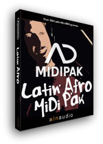 XLN Audio Latin Afro MIDI Pak