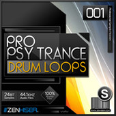 Zenhiser Psytrance Drum Loops 01