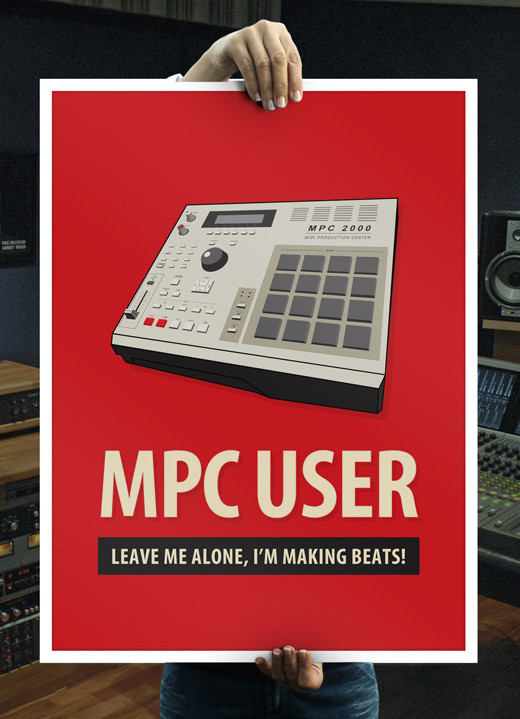 Hip Hop Makers MPC poster