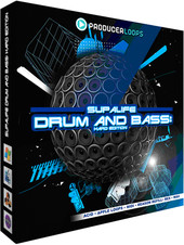 Producer Loops Supalife Drum & Bass: Hard Edition