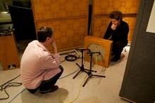 Recording the ondes Martenot speaker units