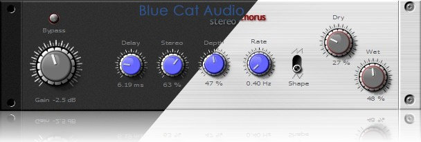 Blue Cat Audio Stereo Chorus skins by satYatunes