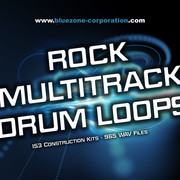 Bluezone Rock Multitrack Drum Loops