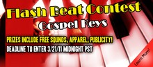 P5Audio Gospel Keys Flash Beat Contest