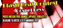 P5Audio Gospel Keys Flash Beat Contest