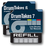 Propellerhead Software Record DrumTakes Vol.6 &amp; 7