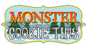 Sample Oddity Monster Cookie Tins