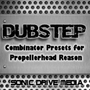 Sonic Drive Media Dubstep Combinator Presets for Reason