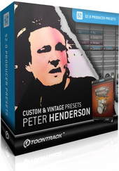 Toontrack Custom &amp; Vintage Presets - Peter Henderson