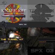 Alive Machine Knife & Tunnel Kits