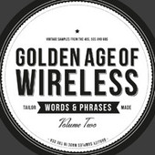 Crate Diggers Golden Age of Wireless - Words & Phrases Vol 2