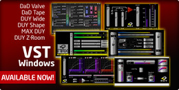 DUY plug-ins for Windows (VST)
