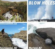 HISSandaROAR Blow Holes