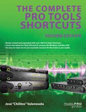 Hal Leonard The Complete Pro Tools Shortcuts