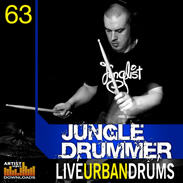 Loopmasters Jungle Drummer - Live Urban Drums
