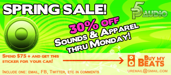 P5Audio Spring Sale
