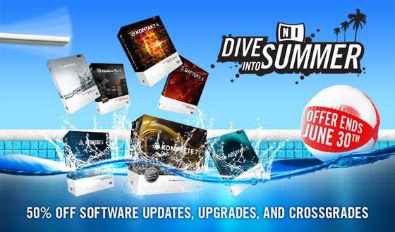 Native Instruments Dive Into Summer