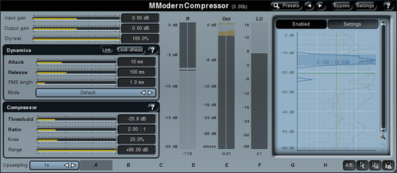MeldaProduction MModernCompressor