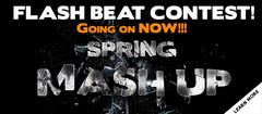 P5Audio Spring Mash Up! Flash Beat Contest