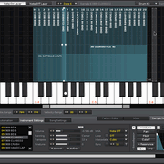 Renoise 2.7 (Sample Keyzone Editor)