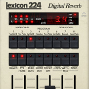 Universal Audio Lexicon 224 Digital Reverb for UAD-2