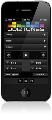 Audiofile Engineering Quiztones iOS App
