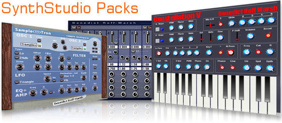 Benedict Roff-Marsh SynthStudio Packs