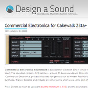 Design a Sound Commercial Electronica