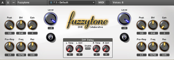 DNR Collaborative Fuzzytone