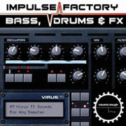 Industrial Strength Records Impulse Factory - Virus TI Bass, Drums &amp; FX